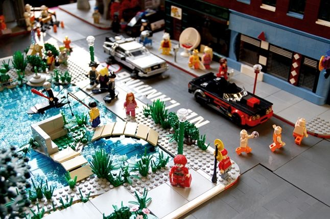 Back To The Future 2 Lego 4 1