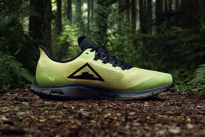 Nike Air Zoom Pegasus 36 Trail Volt Black Release Date Medial Hero