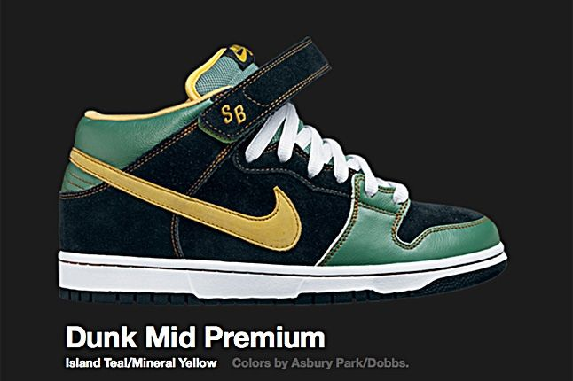 Nike Sb Dunk Premium Island Teal 2008 1