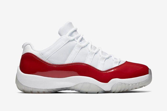 Jordan 11 Low Cherry 1