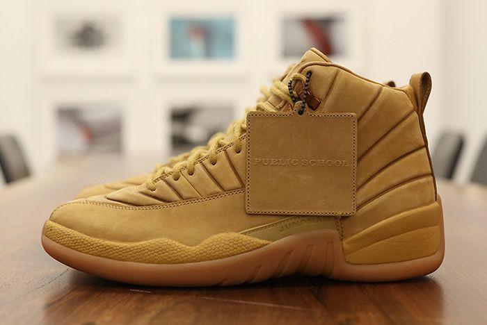Psny X Air Jordan 12 Wheat