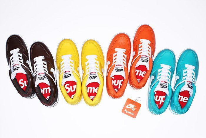 Supreme X Nike Air Force 2 1