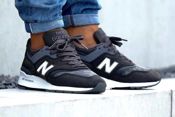 New Balance 997 Charcoal 1