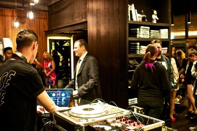 Cabinet Noir Store Opening 11