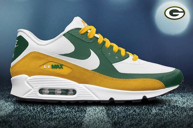 Green Bay Packers Airmax 90 Premium 1