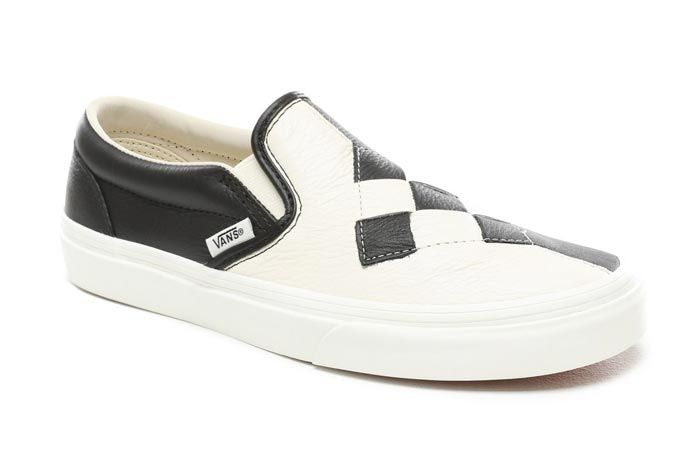 Vans Slip On Woven Checkerboard Fronty