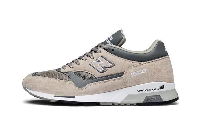 New Balance 1500 Made In England Tan Grey Lateral