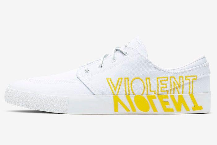 Nike Sb Stefan Janoski Violent Femmes Ci6898 100 Lateral