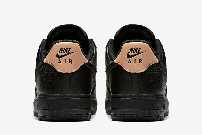 Nike Air Force 1 Low Black Leather 2