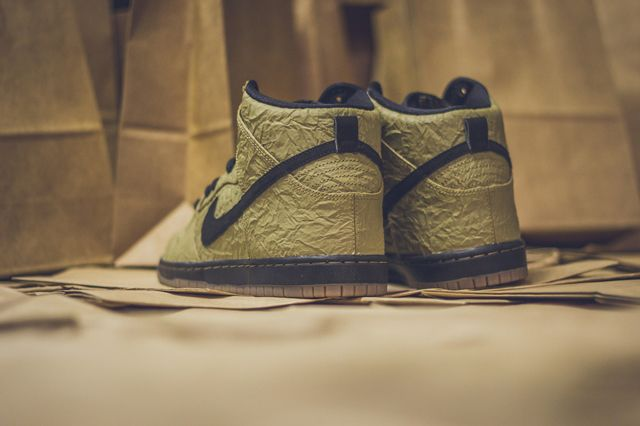 Nike Sb Dunk High Prem Brown Paper Bag5