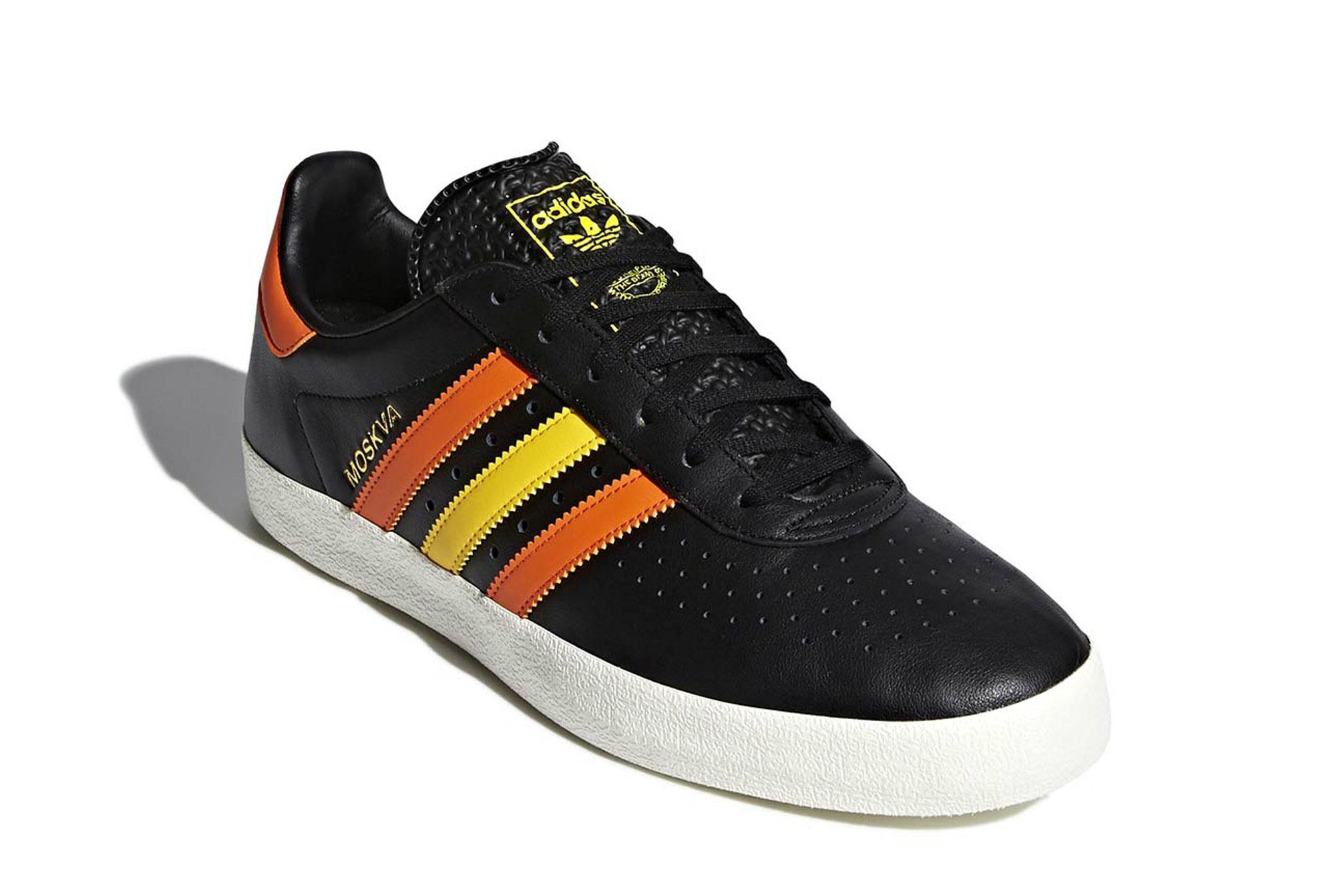 Adidas 350 Moscow Black White Leather Release 9 Sneaker Freaker