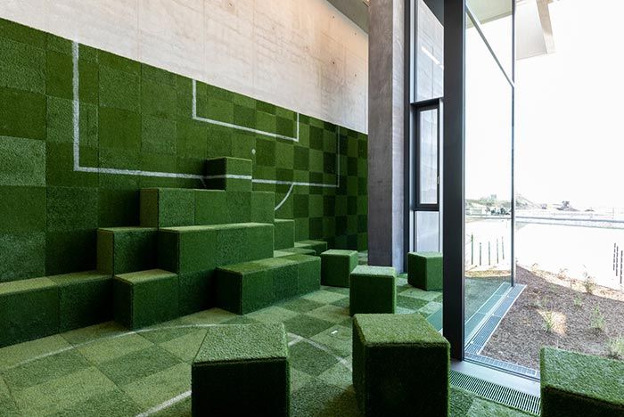 Adidas Hq Arena Green Seats