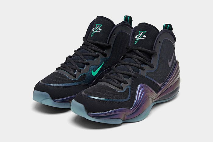 Nike Air Penny 5 Invisibility Cloak 537331 002 2020 Release Dateon White