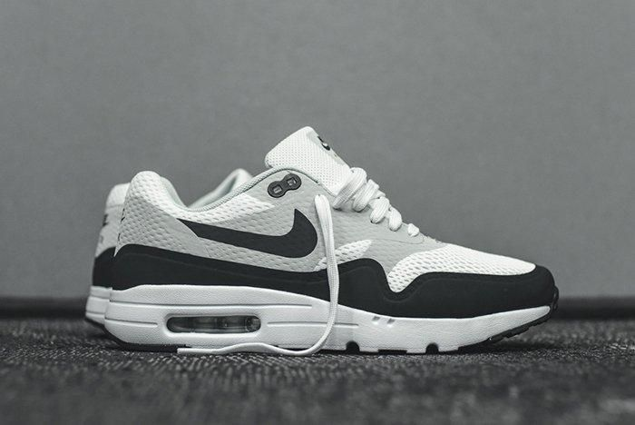 Nike Air Max 1 Ultra Essential White Grey Anthracite 1