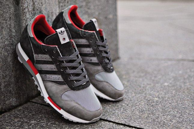 Hanon Adidas Consortium Cntr Pair Red Grey Black 1
