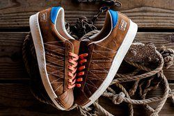 Union Los Angelos X Adidas Adi Super Star 80S Brown Suede Leather Thumb