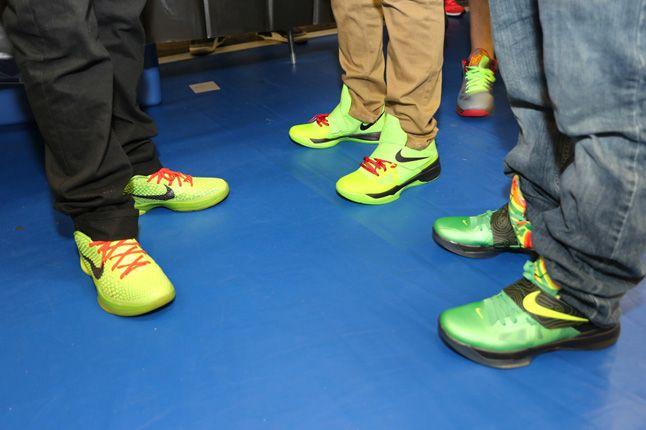 Sneaker Con Charlotte Green Love 1