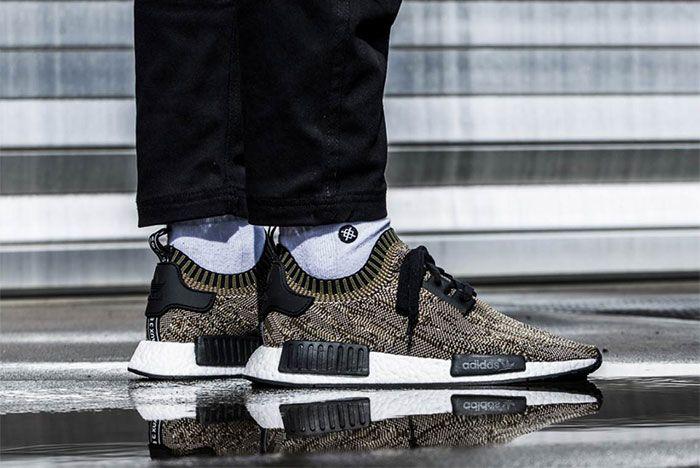 Adidas Nmd R1 Glitch Camo Brown Ba8597 1 Sneaker Freaker