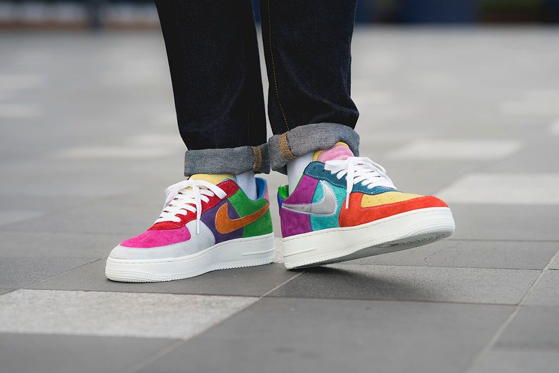 Bespoke Ind Easter What The Swoosh Air Force 1 On Foot1