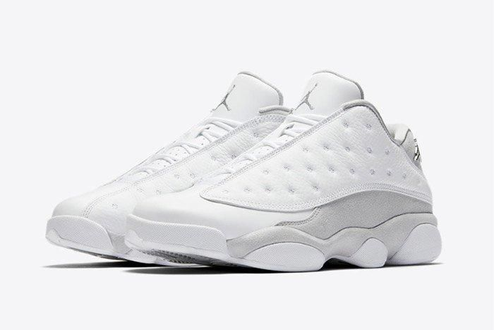 Air Jordan 13 Low Pure Platinum 2