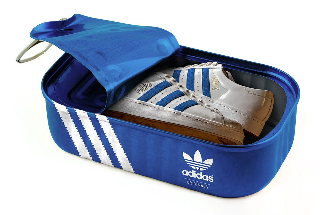 Adidas Canidas Blue In Tin