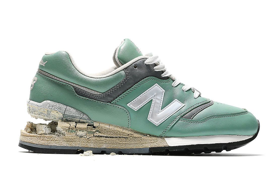 Nb 997 Green Leather