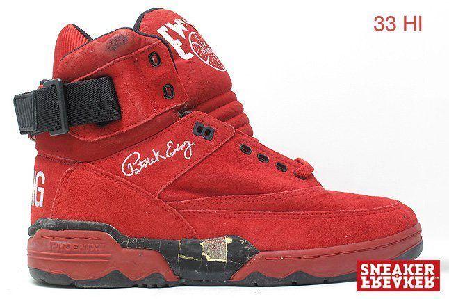 Ewing Sneakers 33 Hi Red 1
