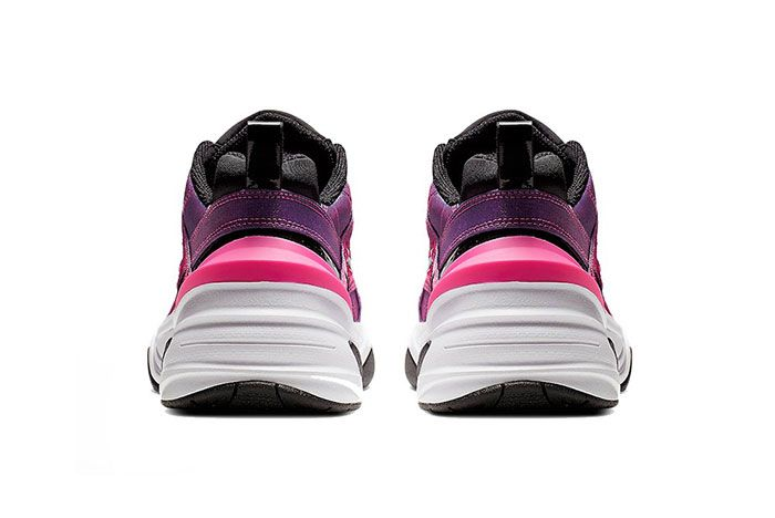 Nike M2K Tekno Laser Fuchsia Heel