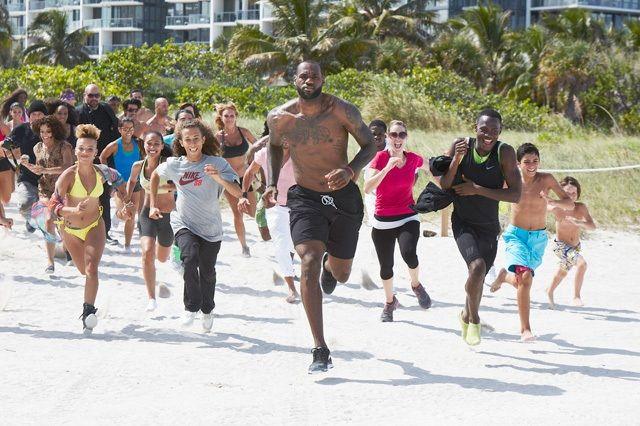 Nike Basketball Lebron James Training Day Campaign 6