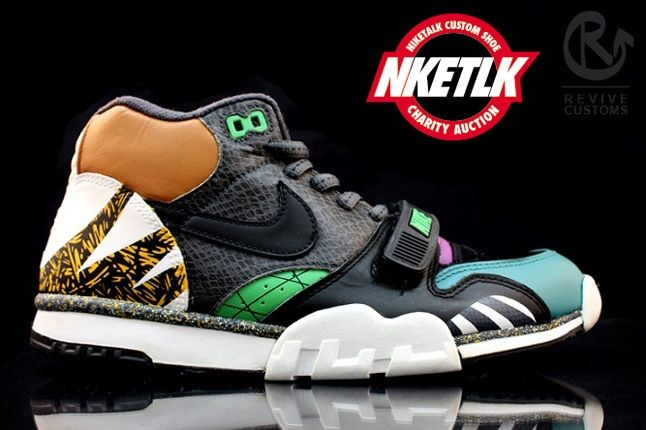 Niketalk Charity Custom Nike Trainer Revive 3 1