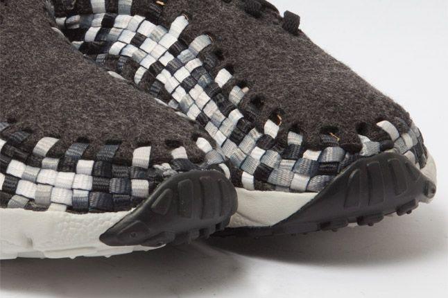 Nike Air Woven Footscape Chukka Black Quarter Details 1