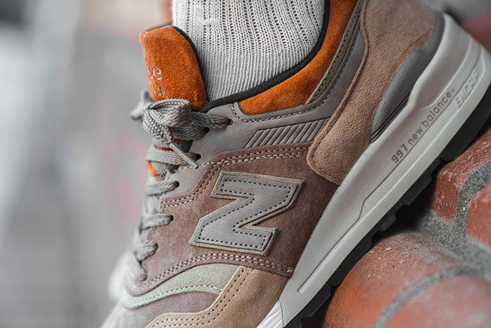 Afew Store New Balance M997Naj On Foot Mid Detail
