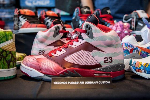 Sekure D Custom Air Jordan V Seconds Please 6