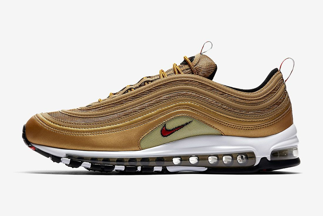Nike Air Max 97 Metallic Gold Italy Sneaker Freaker 6