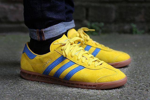 Adidas Hamburg Tribe Yellow Blue Bird