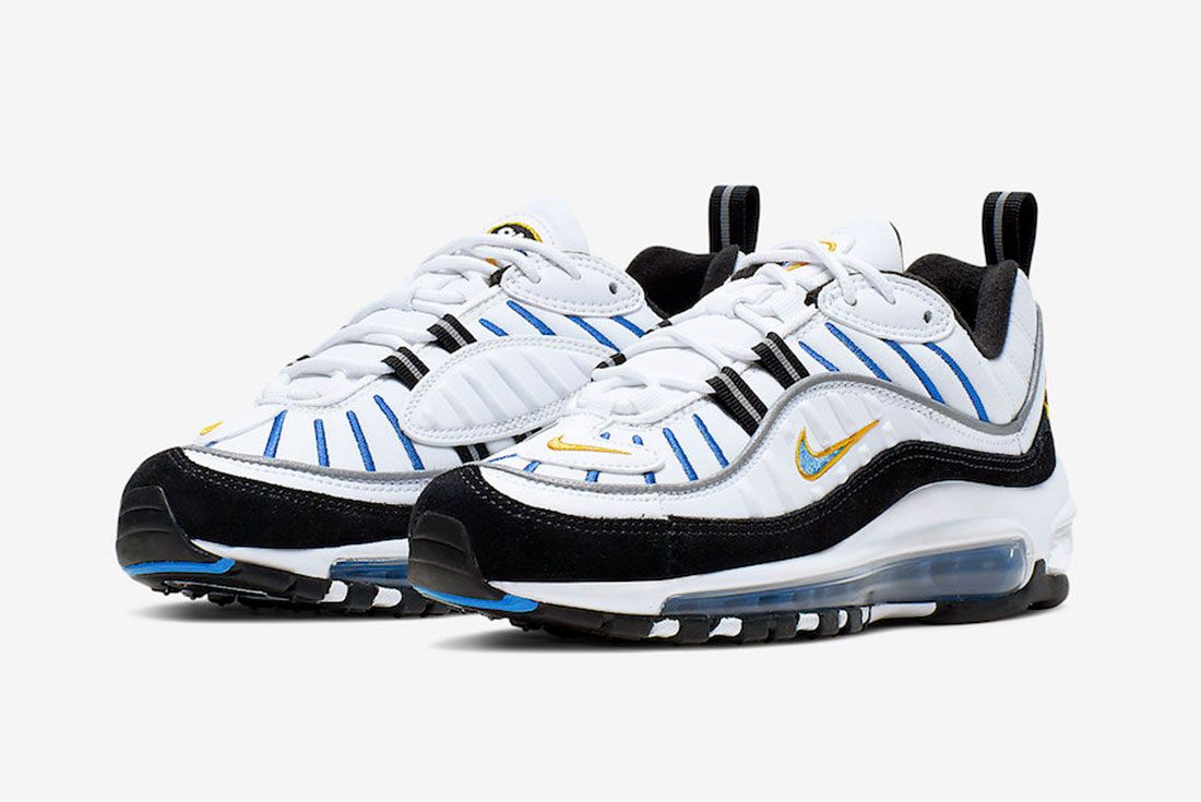 Nike Air Max 98 Gs Cj7393 100 Release Date 4 Side Angle