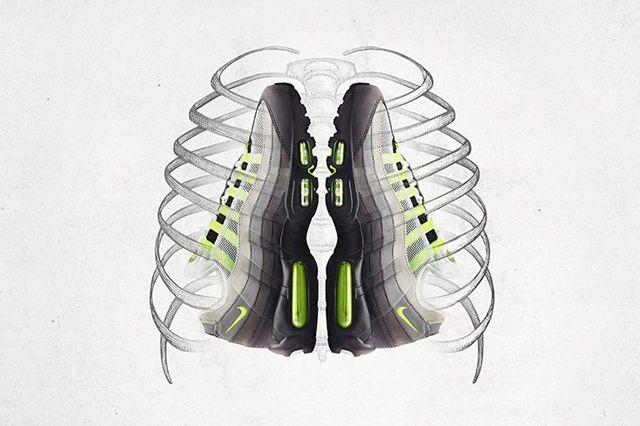 Nike Am95 Neon Og Bumper Nike 1
