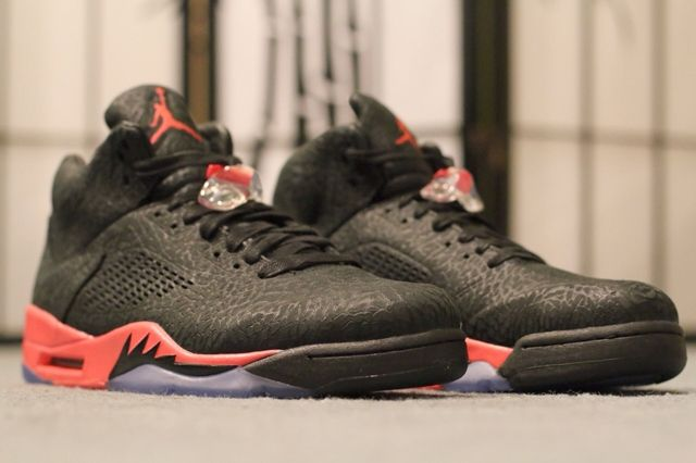 Air Jordan 3 Lab 5 Infrared