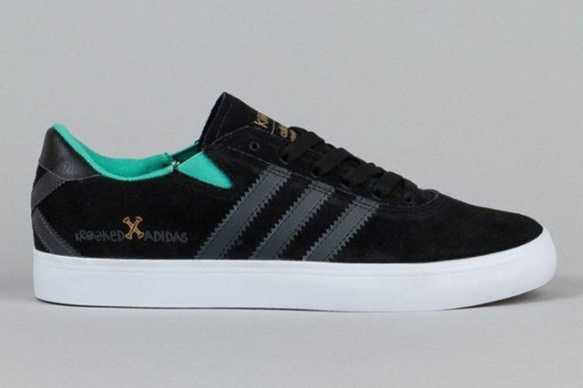 Adidas Gonz X Krooked Pro Black Solid Grey Solo Mint 4
