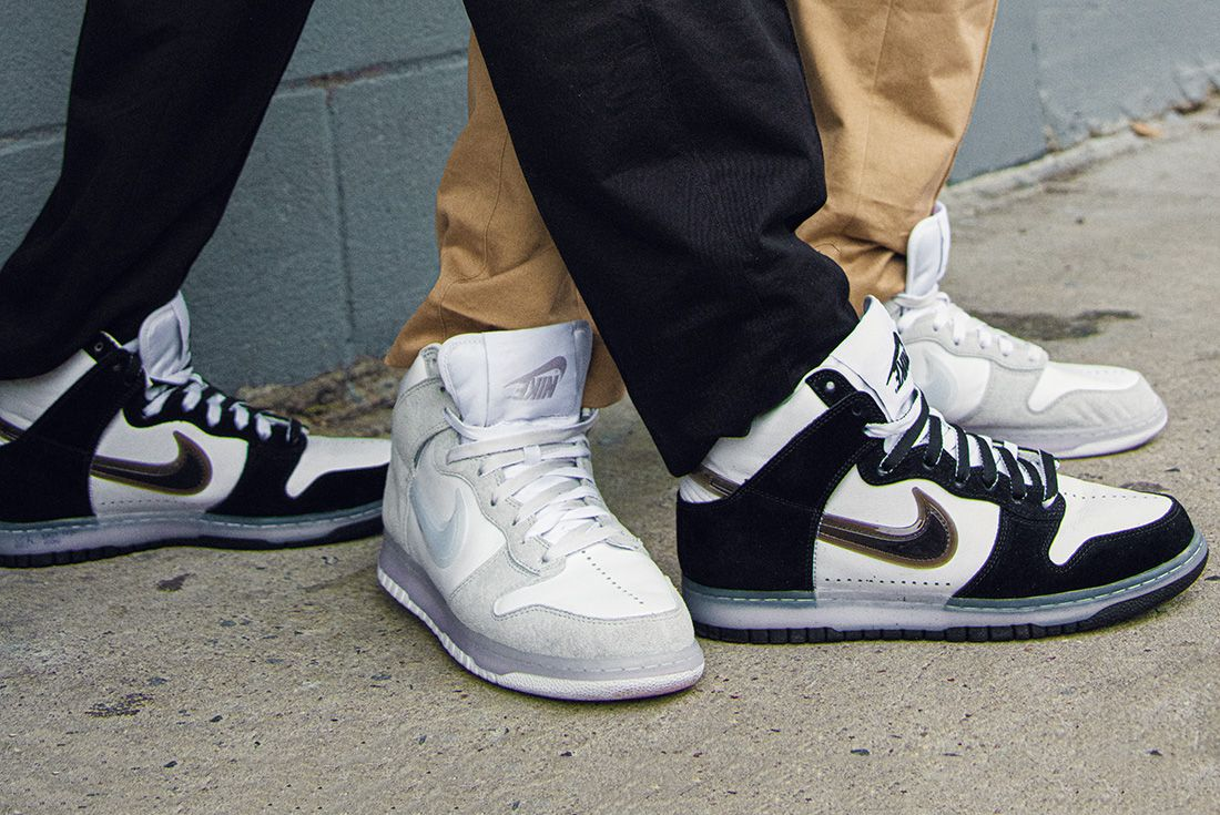 slam jam x nike dunk high