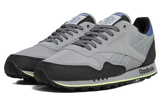 Reebok Classic Leather Trail Feather Grey Quater Front 1