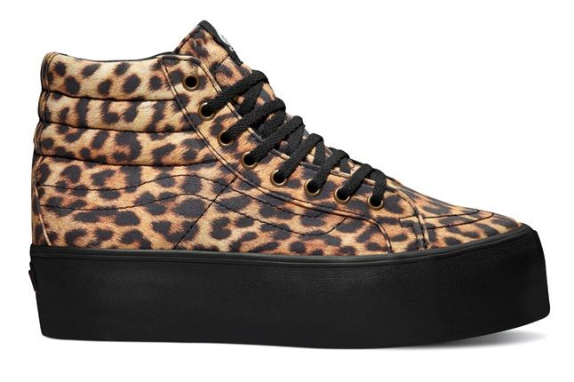 Vans Leather Platform Leopard 1