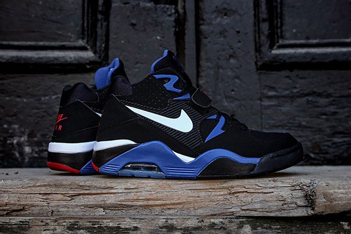 Nike Air Force 180 Black Sport Royal 7