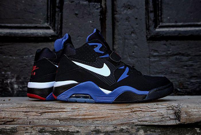 Nike Air Force 180 Black Sport Royal 7
