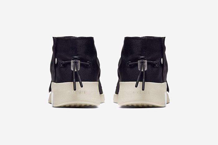 Nike Air Fear Of God Moccasin Official Black Release Date Heel