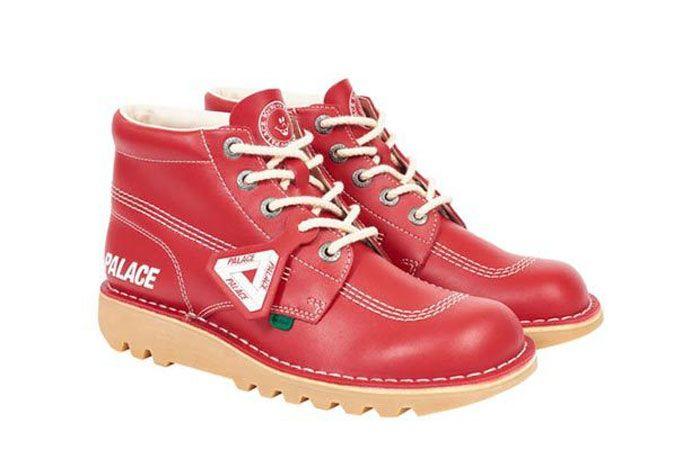 Kickers Palace Kickers Boot Red