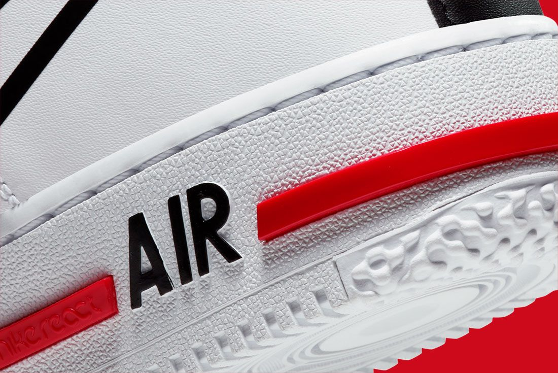 Nike Air Force 1 React Cd4366 100 Close