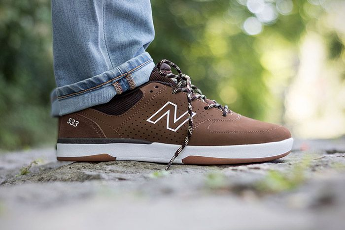New Balance Numeric Pj Stratford 533 Brown 4