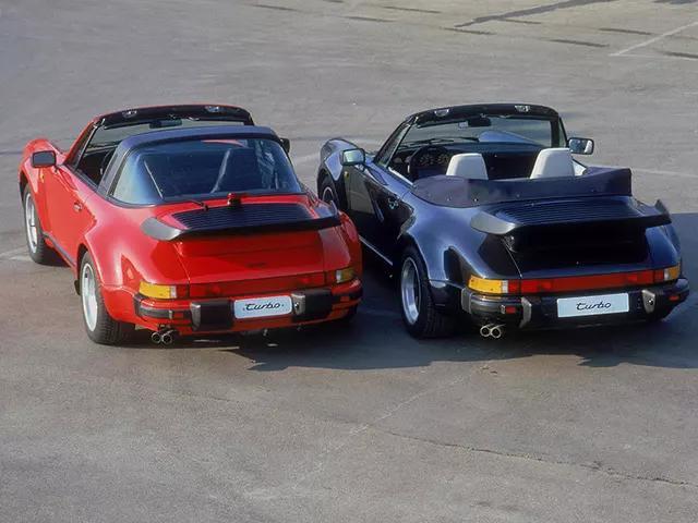 911 Turbo 3.3 Targa, 911 Turbo 3.3 Cabriolet 1987-1989