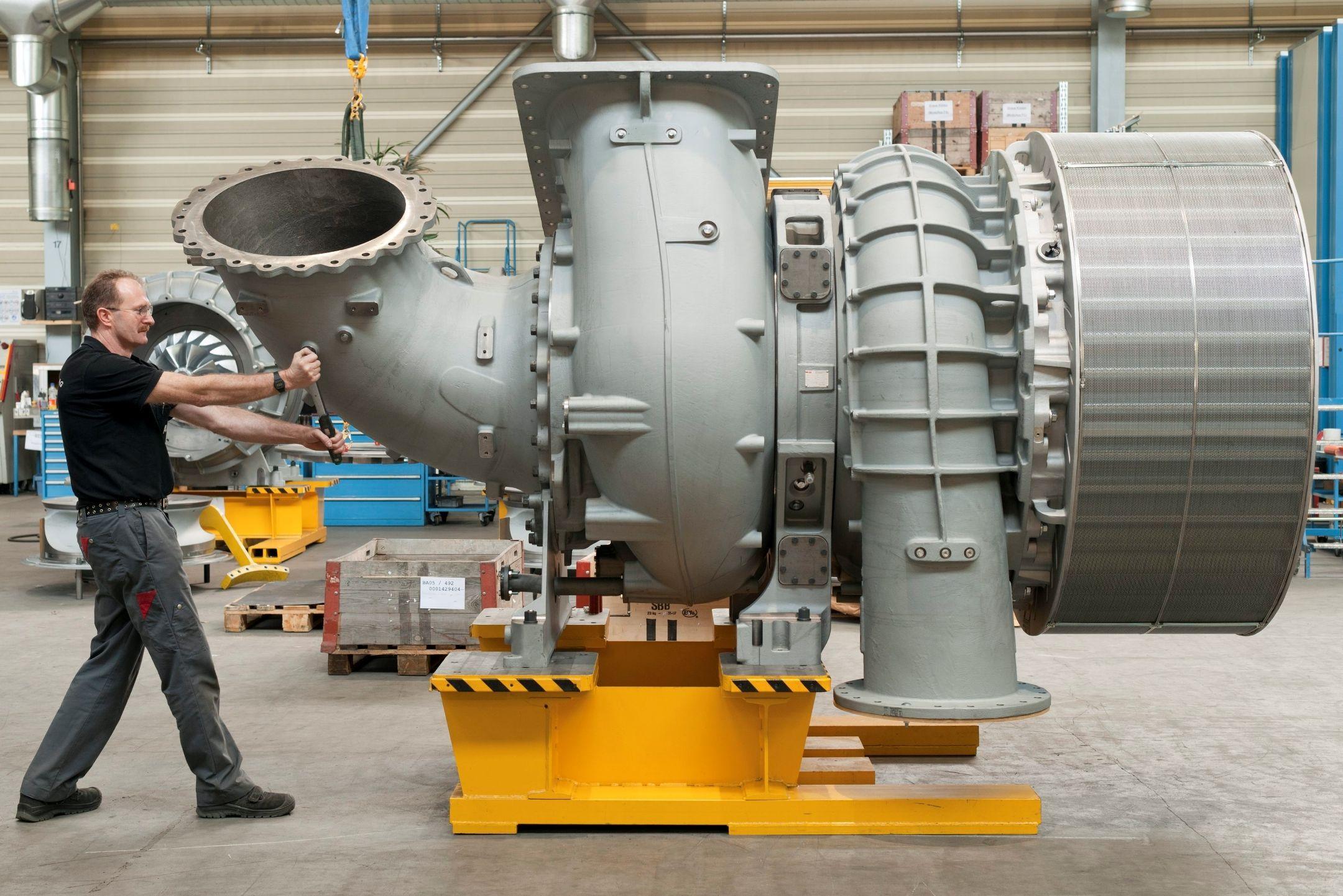 Turbocompressor ABB